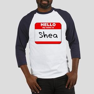 Hello my name is Shea Baseball Jersey