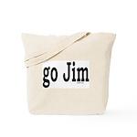 go Jim Tote Bag