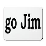 go Jim Mousepad