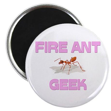 Fire Ant Geek Magnet