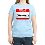 Hello my name is Shauna Women's Light T-Shirt