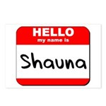 Hello my name is Shauna Postcards (Package of 8)