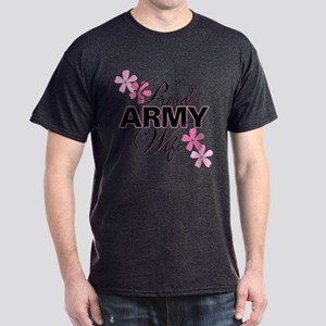 Proud Army Wife Dark T-Shirt