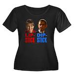 Palin - Obama Lipstick - Dipstick Women's Plus Siz