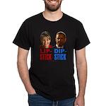 Palin - Obama Lipstick - Dipstick Dark T-Shirt