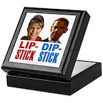 Palin - Obama Lipstick - Dipstick Keepsake Box