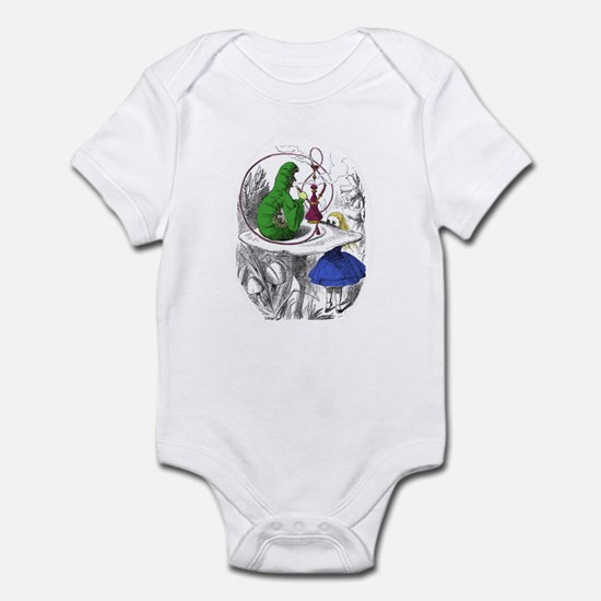"The Caterpillar ""Who Are You?"" Infant Bodysuit"
