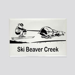 Ski Beaver Creek CO Rectangle Magnet
