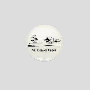 Ski Beaver Creek CO Mini Button