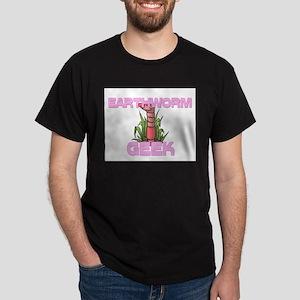 Earthworm Geek Dark T-Shirt
