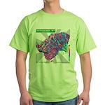 Jackson Hole 2009 Green T-Shirt