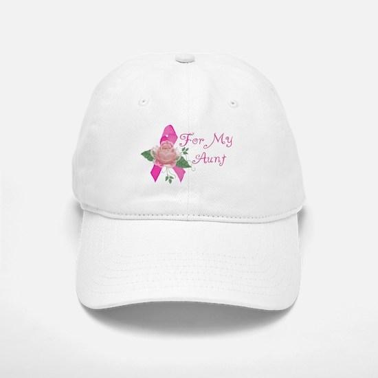 Breast Cancer Support Aunt Baseball Baseball Cap