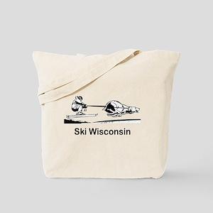 Ski Wisconsin Tote Bag