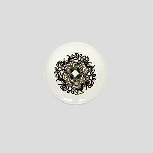 Samhain Celtic Knot Mini Button