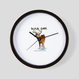 Buck Off.... Wall Clock