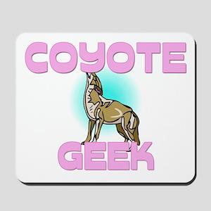 Coyote Geek Mousepad