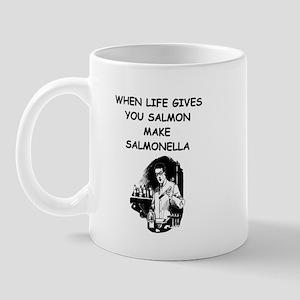 salmonella salmon Mug