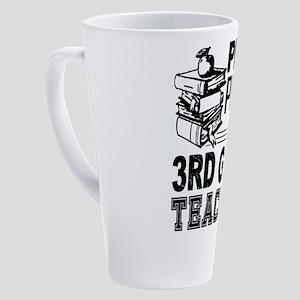 3rd Grade Teacher 17 oz Latte Mug