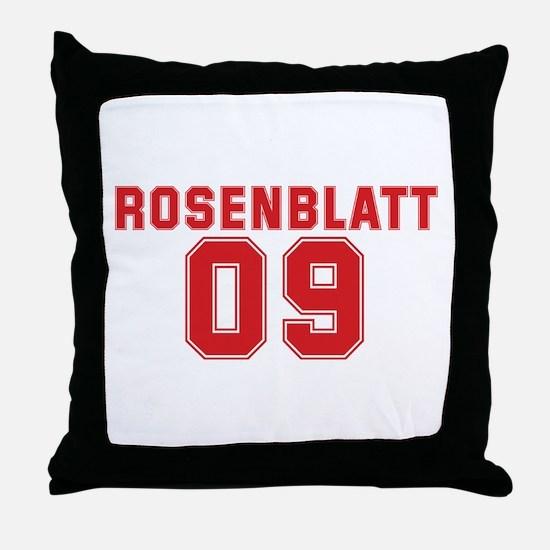 ROSENBLATT 09 Throw Pillow