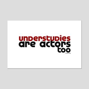 Understudies Mini Poster Print