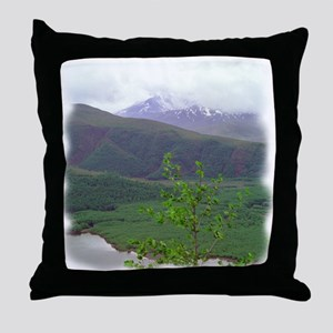 St Helens Re-Birth Throw Pillow