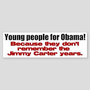 No Carter II Bumper Sticker