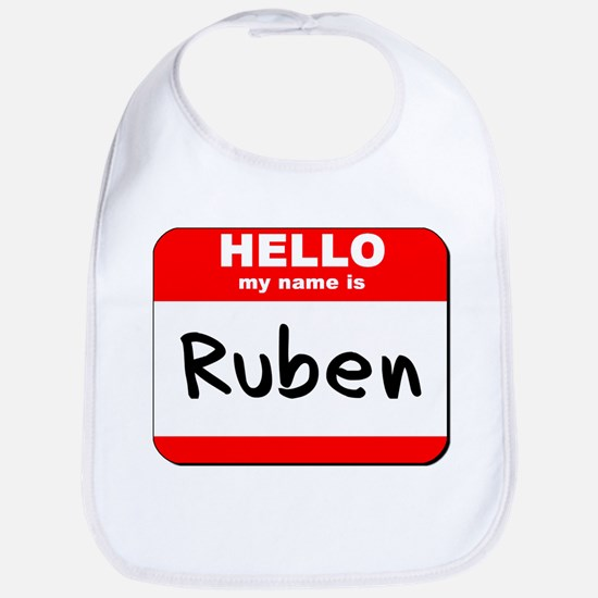 Hello my name is Ruben Bib