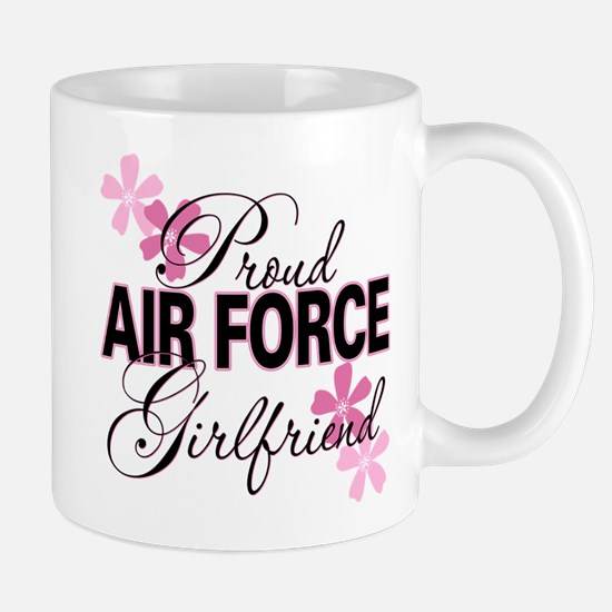 Proud Air Force Girlfriend Mug