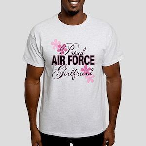 Proud Air Force Girlfriend Light T-Shirt