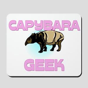 Capybara Geek Mousepad