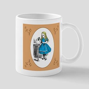 Alice and the Drink Me Bottle Mug