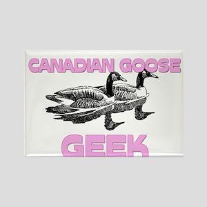 Canadian Goose Geek Rectangle Magnet