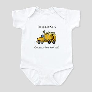 Proud Son Of A Constrution Wo Infant Bodysuit
