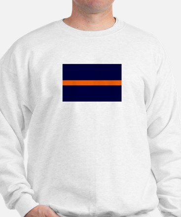 Auburn Thin Orange Line Sweatshirt