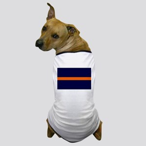 Auburn Thin Orange Line Dog T-Shirt