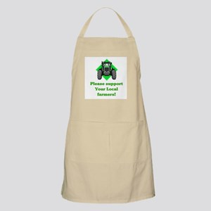 Please Support Your Local Far BBQ Apron