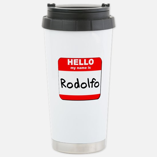 Hello my name is Rodolfo Stainless Steel Travel Mu