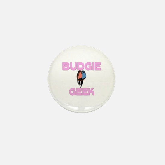 Budgie Geek Mini Button