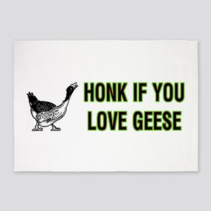 Honk for Geese 5'x7'Area Rug