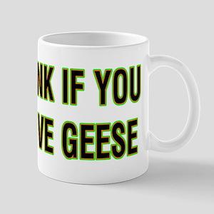 Honk for Geese Mugs