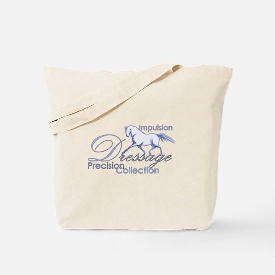 Dressage Horse Tote Bag