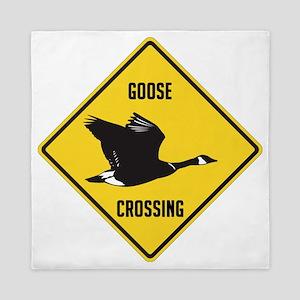 Canada Goose Sign Queen Duvet