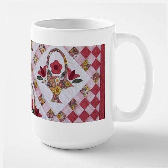 Trudy's Flower Baskets Large Mug