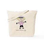 BikerChick: Tote Bag