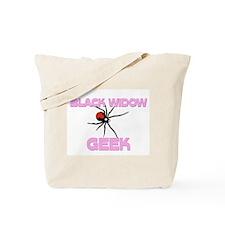 Black Widow Geek Tote Bag