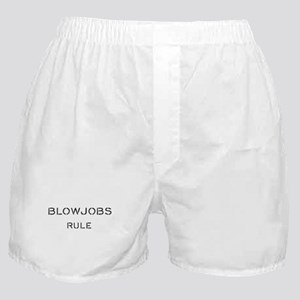 blowjobs rule Boxer Shorts