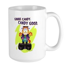 Garfield Gimme Candy Large Mug