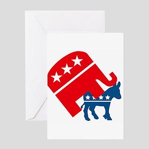 Republicans and Democrats3. Greeting Card