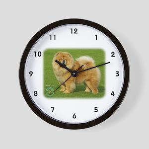 Chow Chow 9B008D-17 Wall Clock