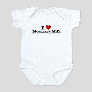 I heart Mommys Milk Infant Bodysuit
